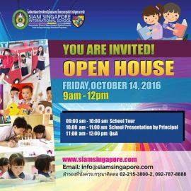 Siam Singapore International School openhouse