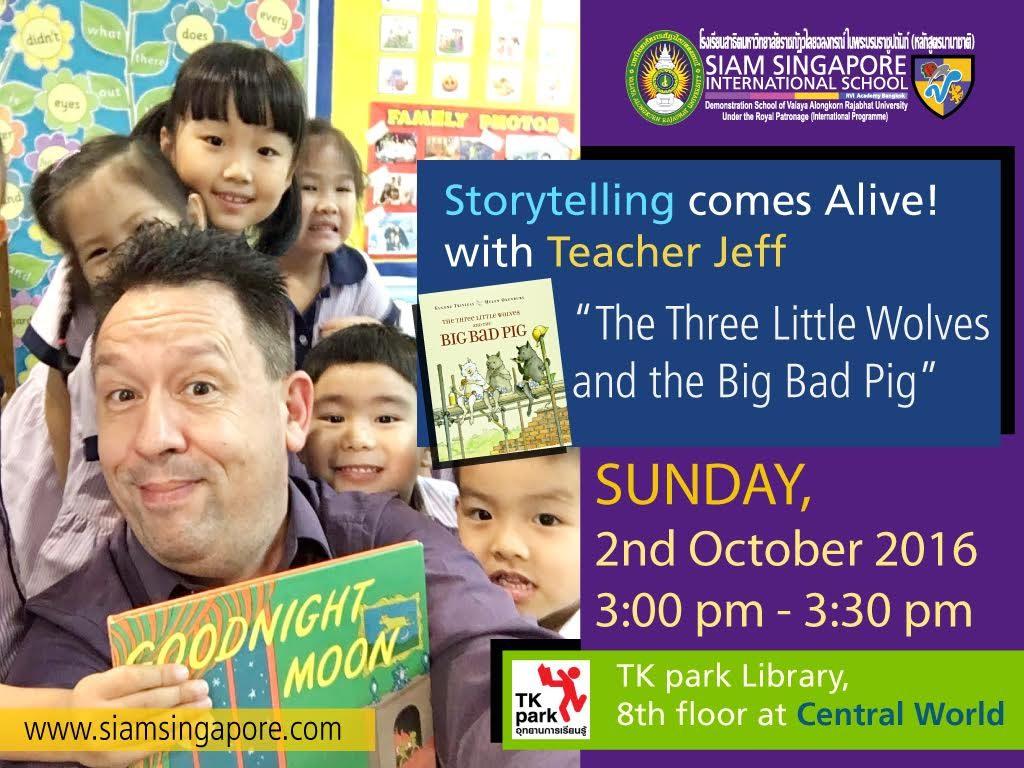Siam Singapore storytelling session@TK park, Central World