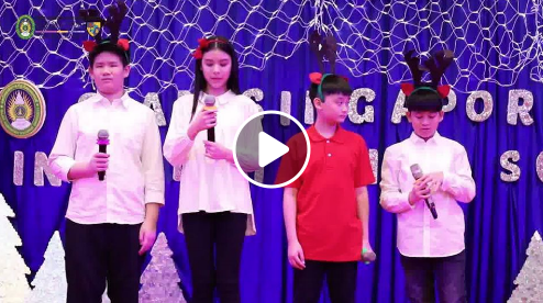A beautiful performance by our very own Upper Primary/Secondary level students.