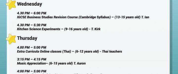 SPECIAL ONLINE CLASSES (PRESCHOOL,PRIMARY,SECONDARY)